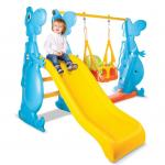 Spatiu de joaca Dino Swing and Slide Set