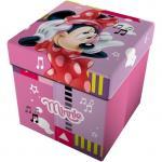 Taburet pliabil cu spatiu de depozitare Minnie Music Star