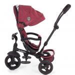 Tricicleta cu sezut reversibil Carlitto Red Melange