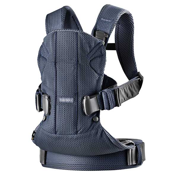 Marsupiu anatomic One Air Navy Blue 3D Mesh