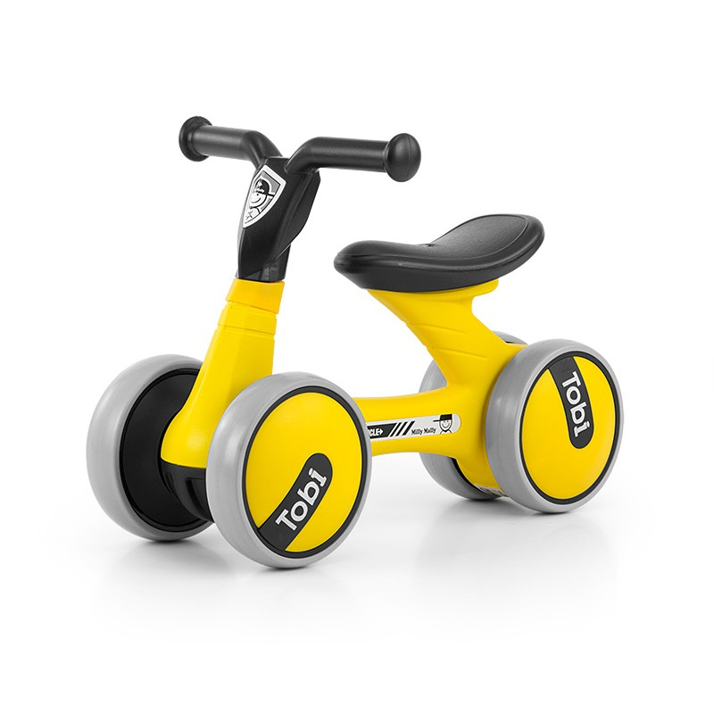 Bicicleta fara pedale Ride-On Tobi Yellow
