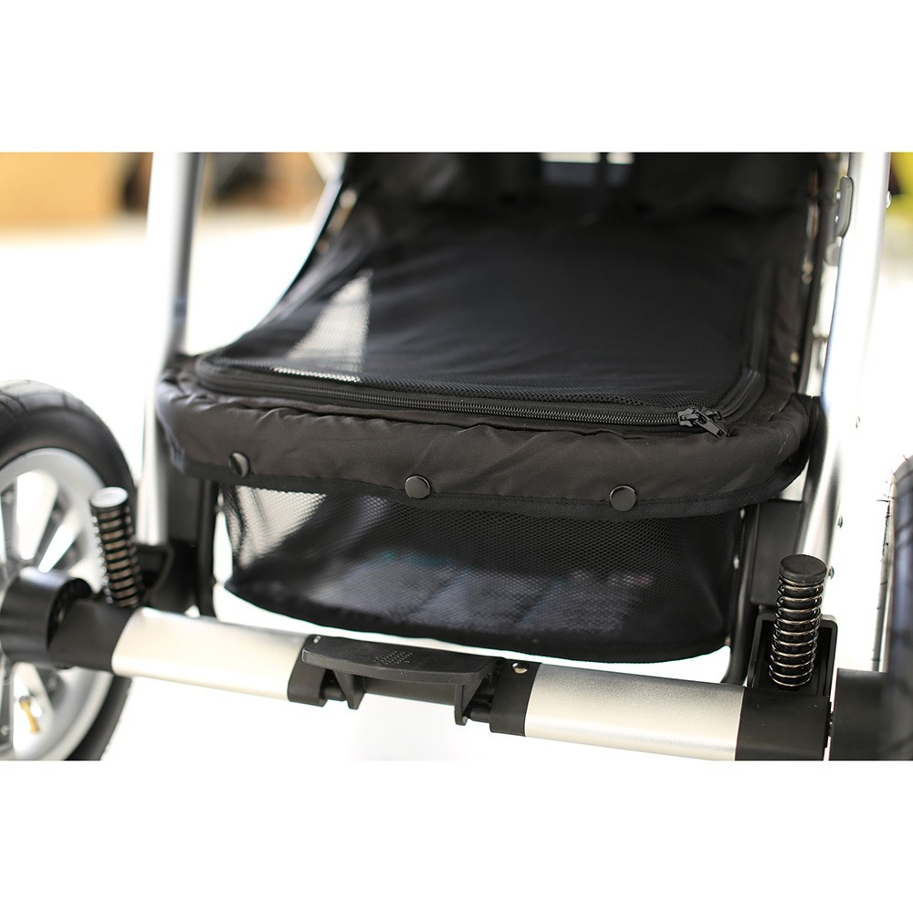 Carucior 2 in 1 Baby Design Dotty 10 Black 2019