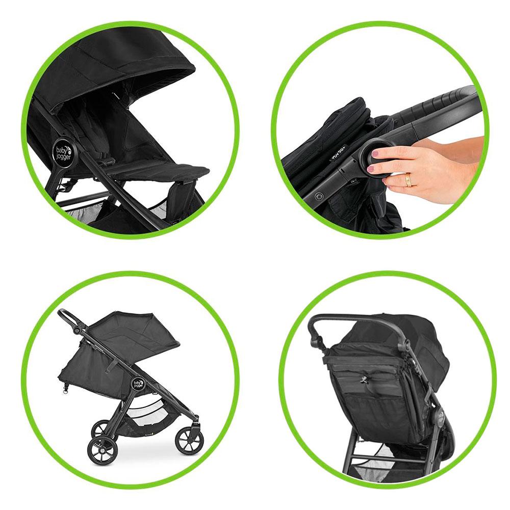 Carucior Baby Jogger City Mini GT2 Slate - 3