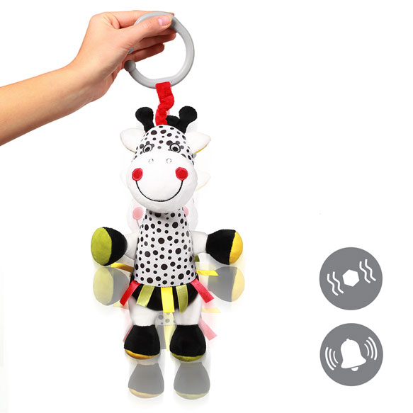 Jucarie de plus cu vibratii Baby Ono Girafa Adelle - 4