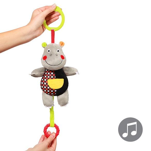 Jucarie muzicala pentru copii Hipopotam Albert
