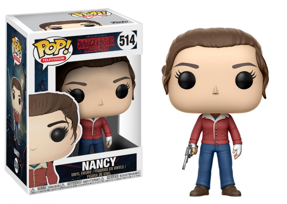 Figurina Stranger Things Nancy Gun