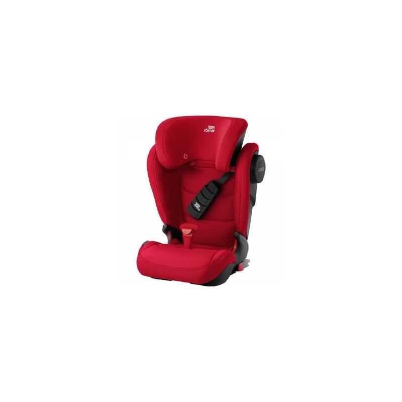Scaun auto cu isofix 15-36 kg Kidfix III S Fire Red Britax-Romer