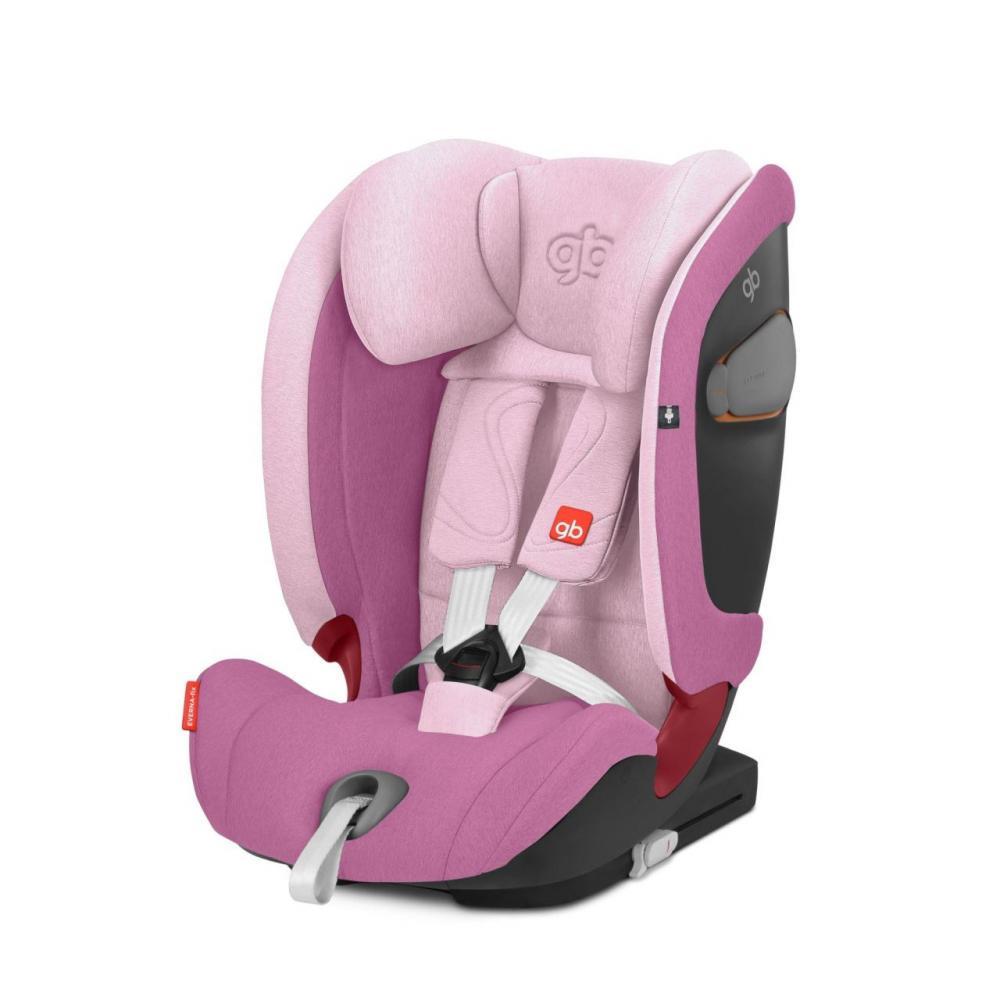 Scaun auto gb Everna-fix Sweet Pink 9-36 kg