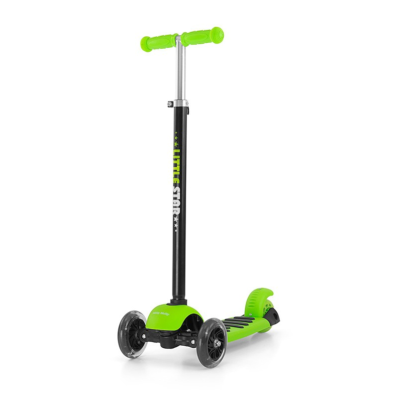 Trotineta Multifunctionala 3 In 1 Little Star Green