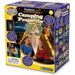 Proiector si lampa de veghe pentru camping Aventuri in aer liber Brainstorm Toys