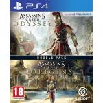 Joc Compilation Assassins Creed Odyssey &Assassins Creed Origins PS4