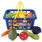 Cos fructe si legume cu 21 de piese