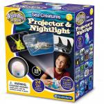Lampa de veghe si proiector animale marine Brainstorm Toys