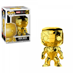 Figurina Marvel Studios 10 Iron Man Chrome