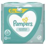 Servetele umede Pampers Sensitive 6 pachete x 52buc