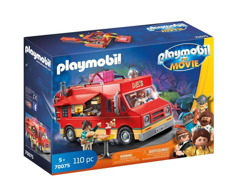Set figurine camionul cu mancare al lui Del