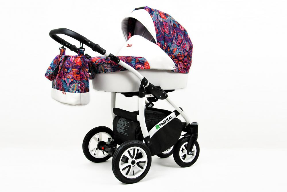 Carucior Tropical 3 in 1 Paisley