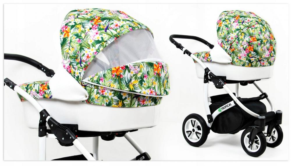 Carucior Tropical 3 in 1 Tropical Flowers - 1