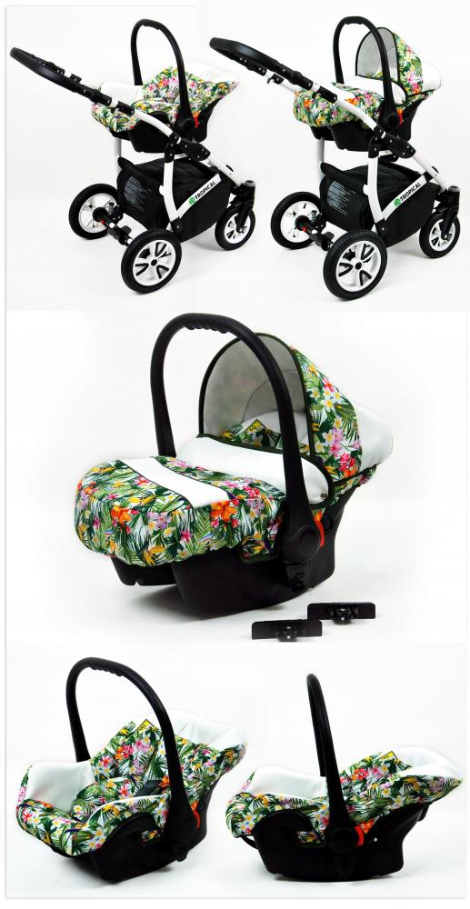 Carucior Tropical 3 in 1 Tropical Flowers - 2