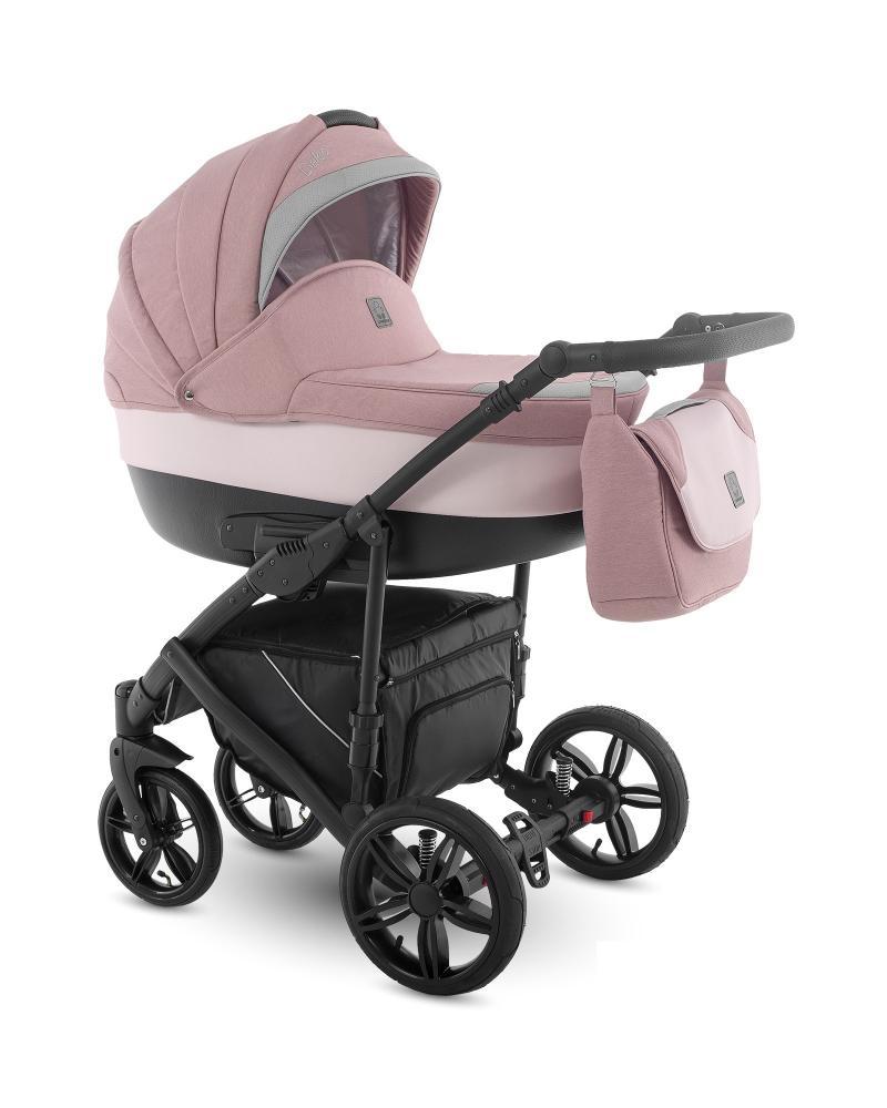 Carucior copii 2 in 1 Baleo Camarelo Ba-Pink