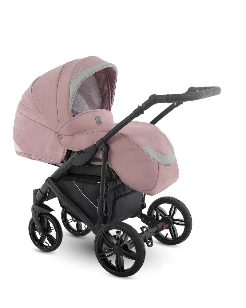 Carucior copii 3 in 1 Baleo Camarelo Ba-Pink imagine