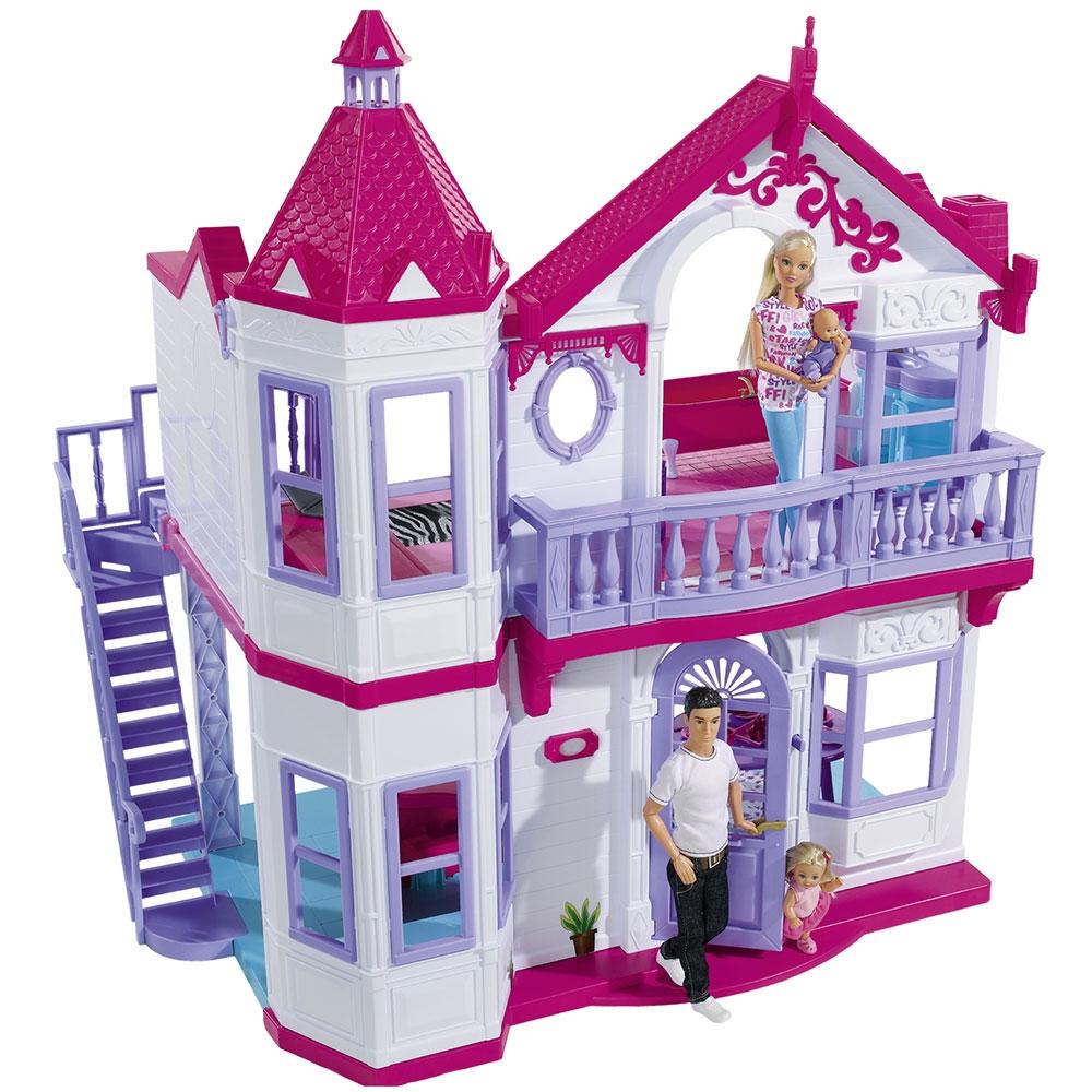 Casuta pentru papusi Simba Steffi Love My Dreamhouse cu accesorii
