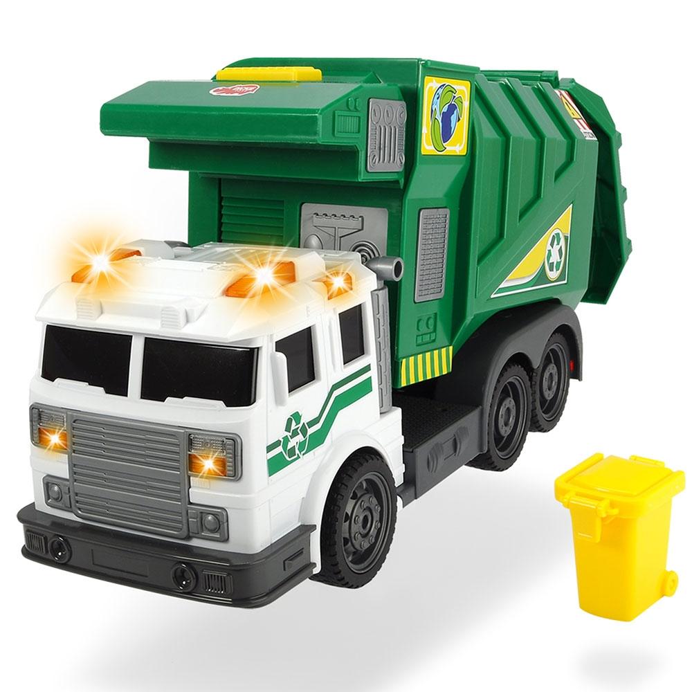 Masina de gunoi cu accesorii Dickie Toys City Cleaner