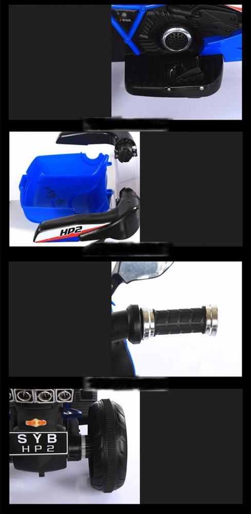 Motocicleta electrica pentru copii Sport Blue