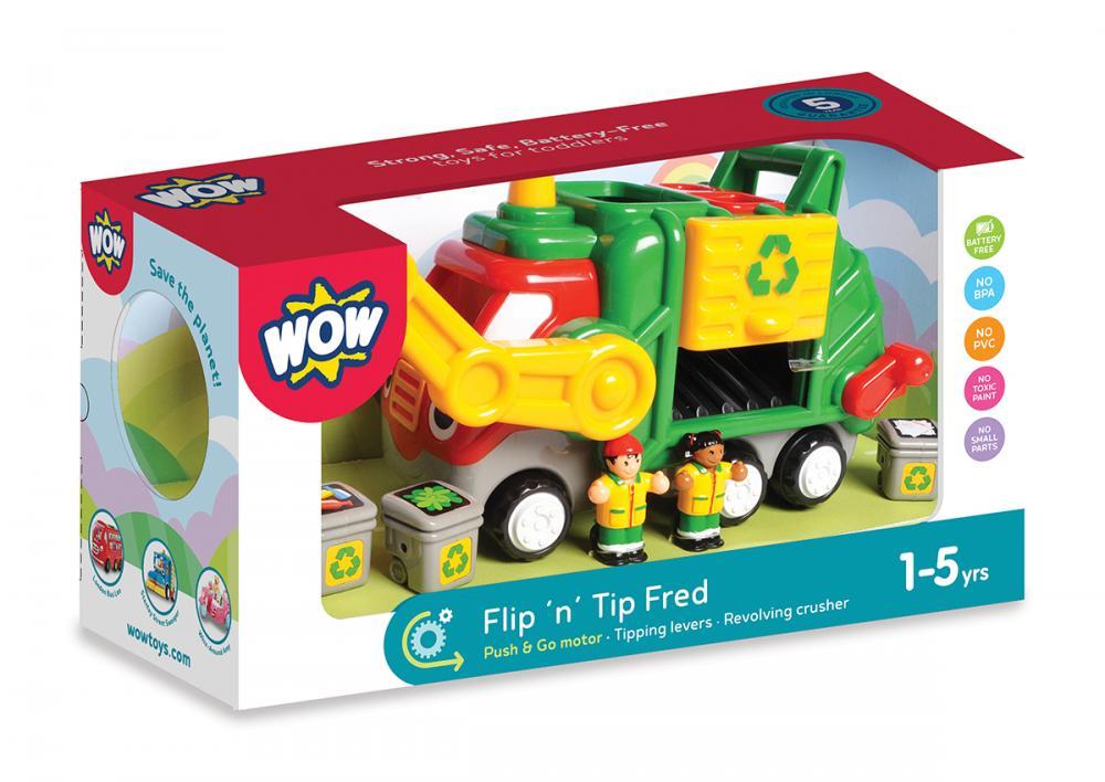 Masina de Gunoi FlipTip Fred