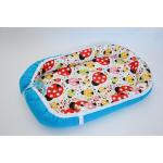 Baby Nest 0-6 luni Buburuze si albastru