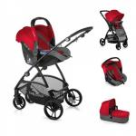 Carucior 3 in 1 Slide 3 Top Plus Red