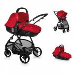 Carucior 3 in 1 Slide Match Red