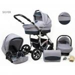 Carucior Largo 3 in 1 Silver