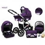 Carucior Largo 3 in 1 Violet
