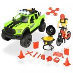Set Masina Dickie Toys Playlife Bike Trail cu figurina si accesorii
