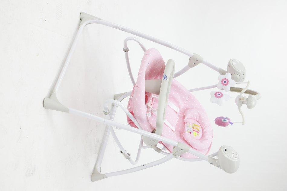 Balansoar electric si leagan copii Roz imagine