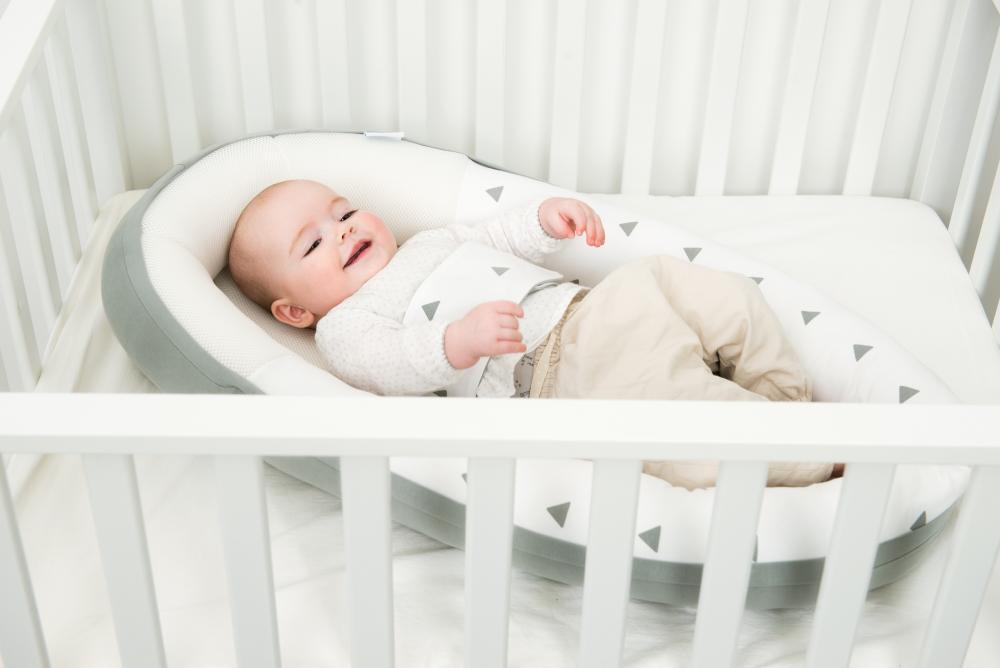 Suport cuibusor pentru bebelusi Doomoo Grey