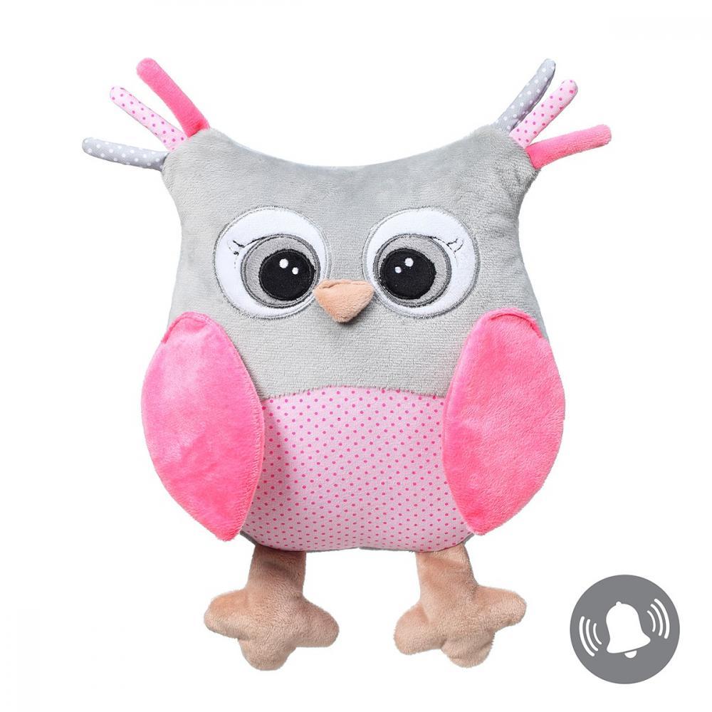 Jucarie Baby Ono bufnita Sofia de plus roz