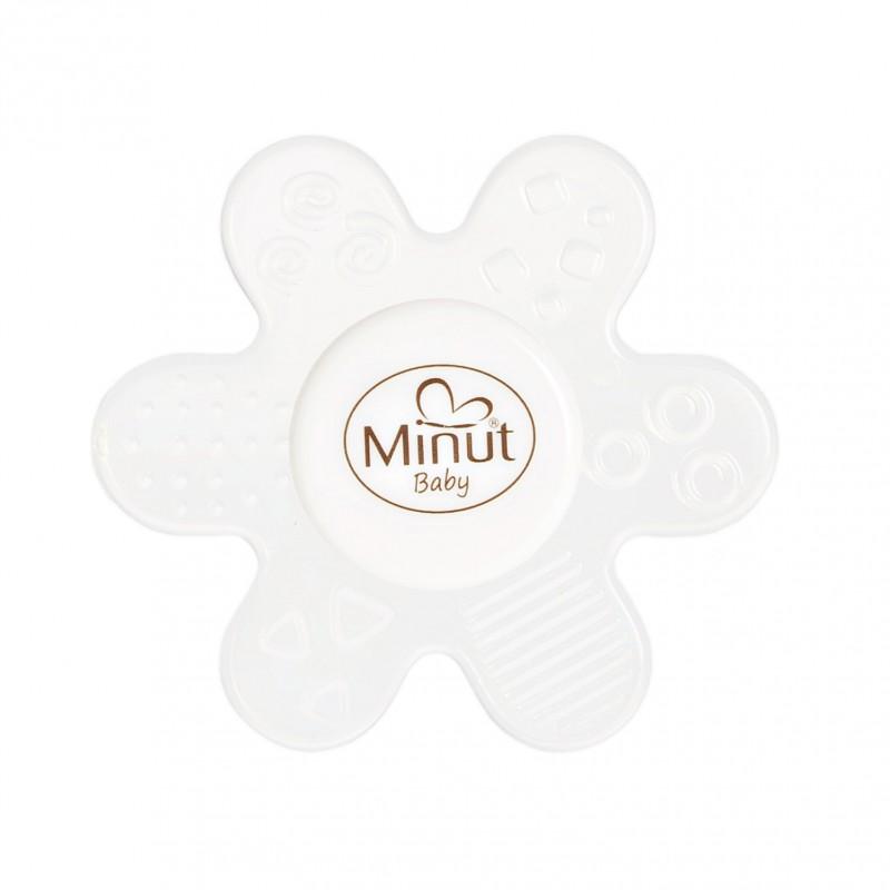 Jucarie dentitie floare silicon Minut Baby 3+