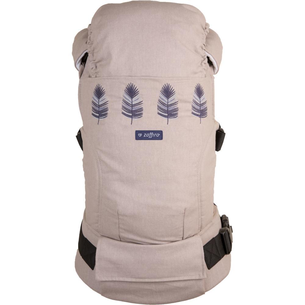 Marsupiu ergonomic Embrace N24 Melange Womar Zaffiro 3-Z-NE-N24