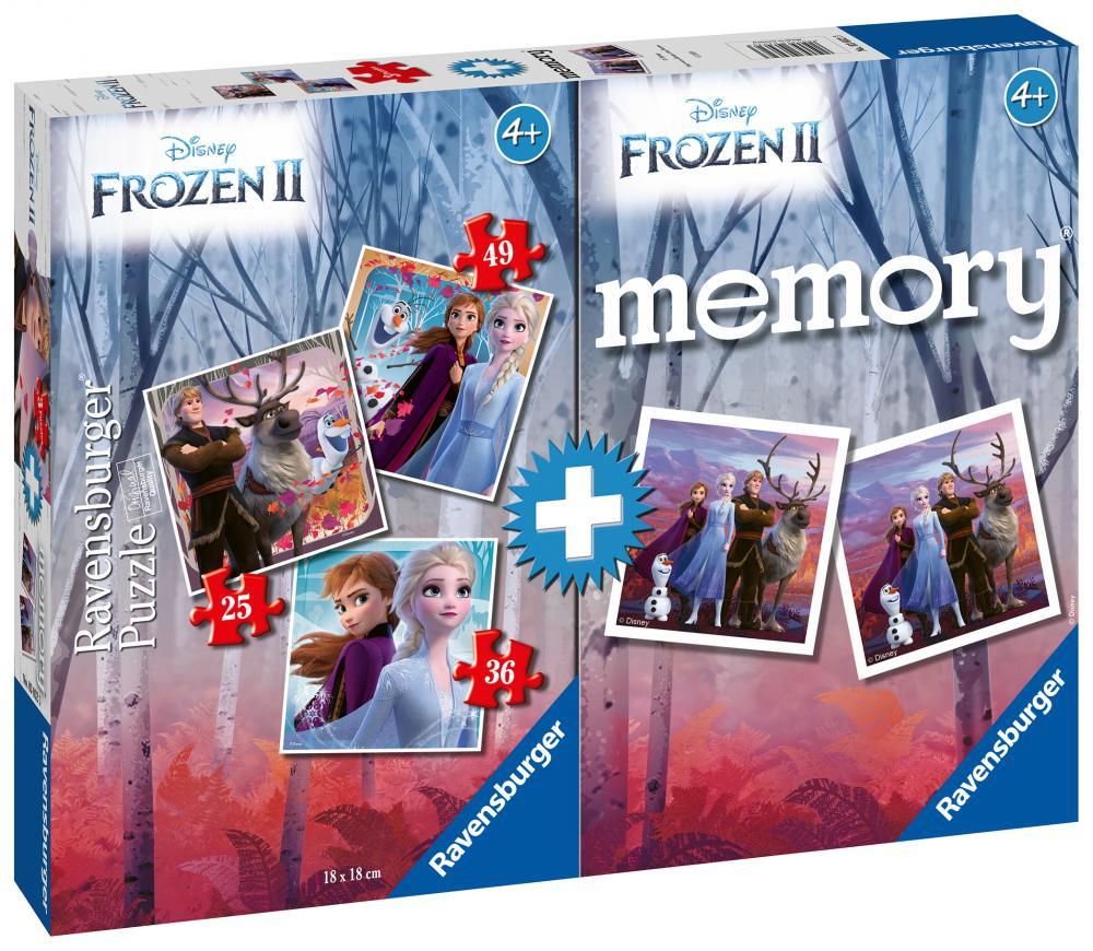 Puzzle joc memory Frozen II