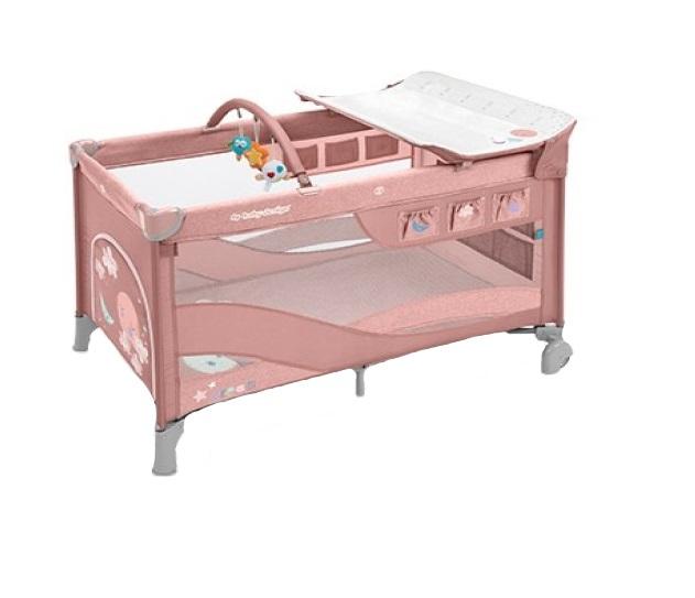 Patut Baby Design pliabil cu 2 nivele Dream 08 Pink 2019 din categoria Camera copilului de la BABY DESIGN