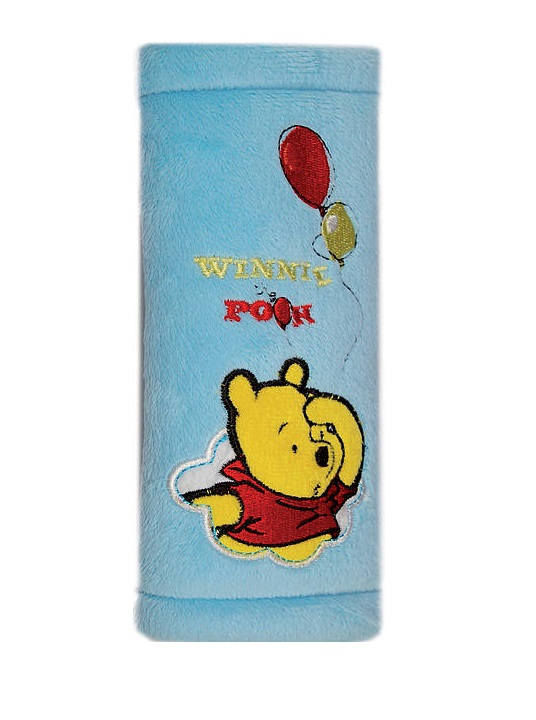 Protectie centura de siguranta Winnie the Pooh albastru