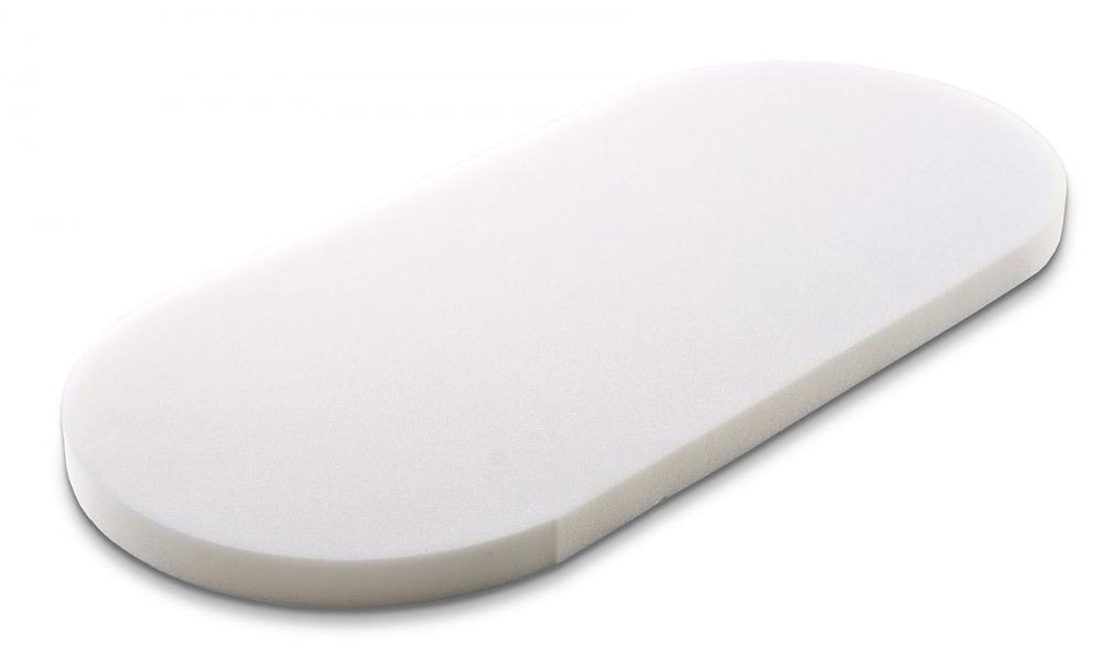 Saltea pentru landou Sensillo Classic menta 75x35 cm