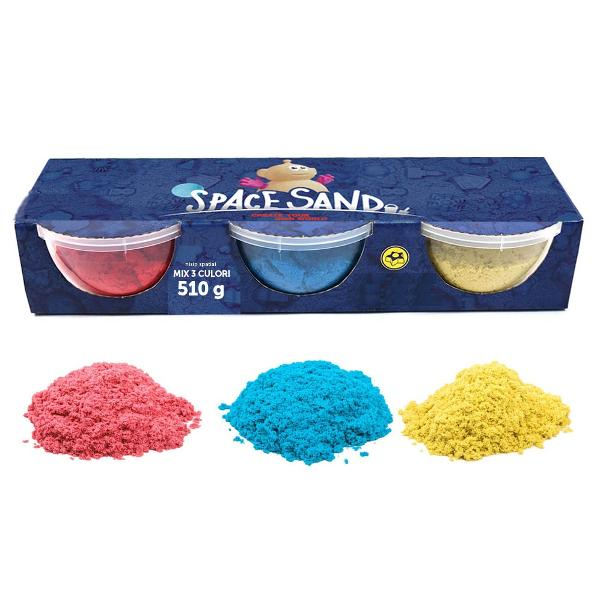 Space sand nisip spatial mix 3 rag 510g