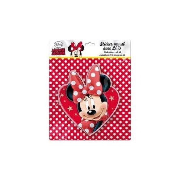 Sticker de perete cu led Minnie Heart SunCity imagine
