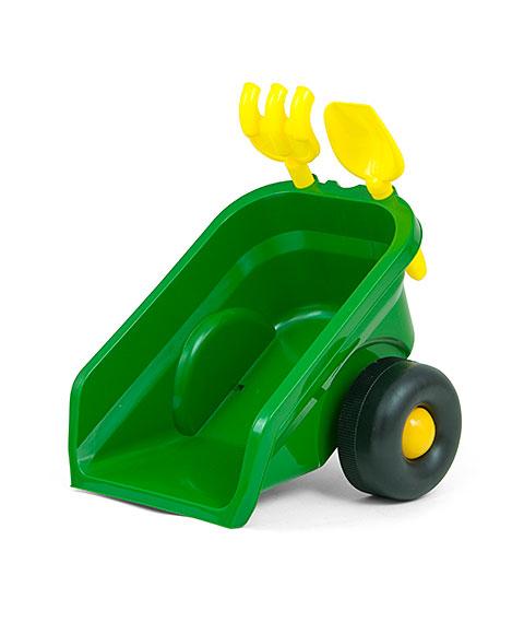 Tractoras cu remorca Ride On Rolly Plus Green