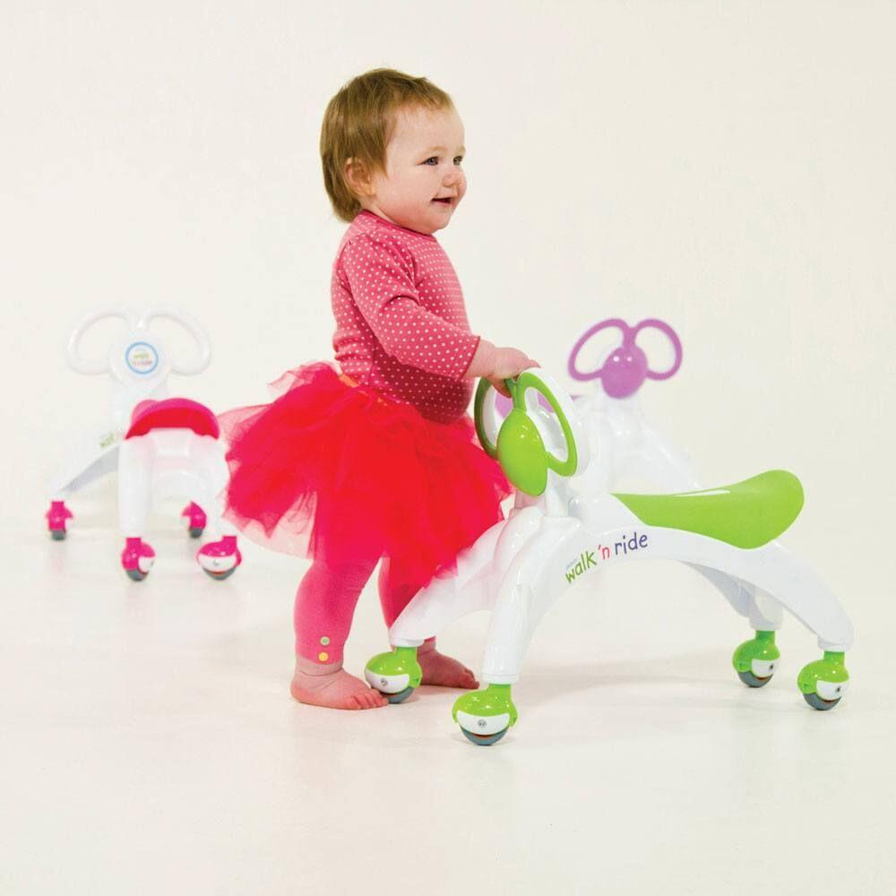 Vehicul fara pedale Walk n Ride verde