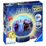 Puzzle 3D luminos Frozen II 72 pcs