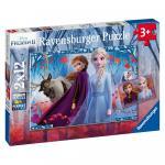 Puzzle Frozen 2x12 piese
